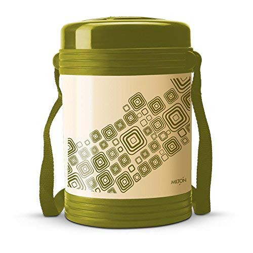 Milton Vector 4 Container Tiffin Box Green